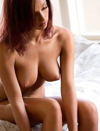 Victoria Lynn & Victoria Lynn strips off her white underwear