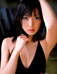 Haruka Ogura Asian has sexy curves exposed in hot bath suits